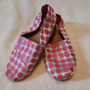 Tom's polka dot classic shoes